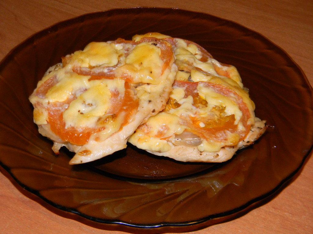 куриная грудка отбивная в духовке с сыром