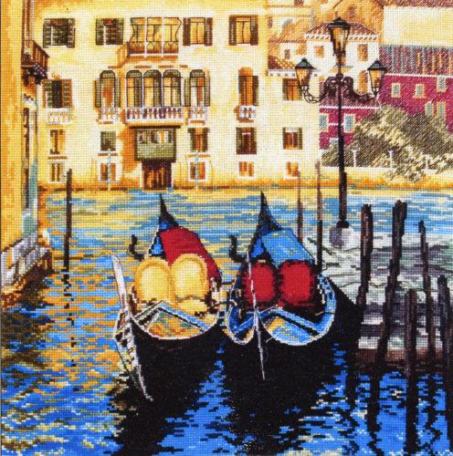 Вышивка «Venice» крестиком (схемка)