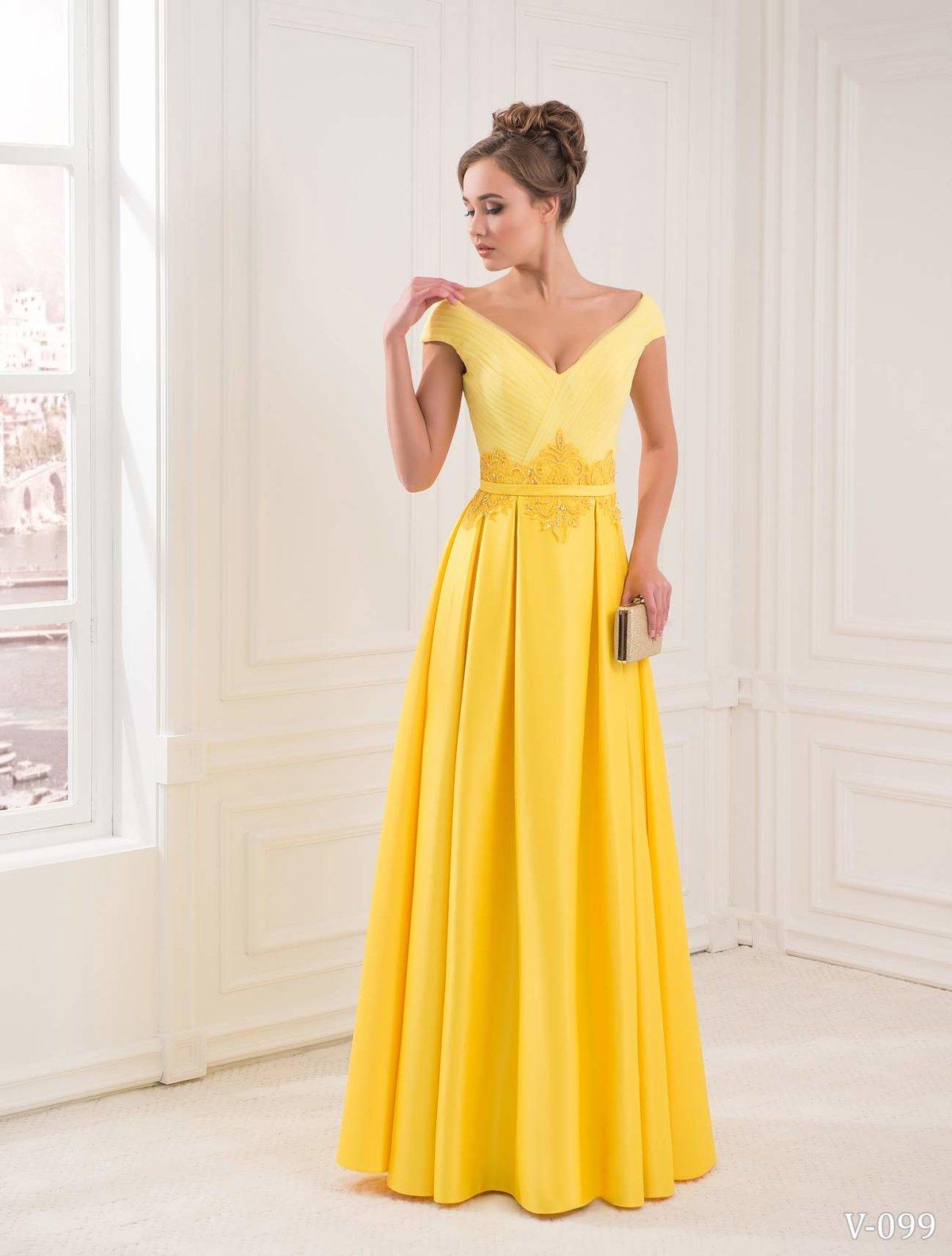 Желтое платье картинки