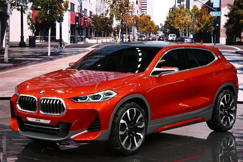 BMW X2 Concept – прототип купеобразного кроссовера.