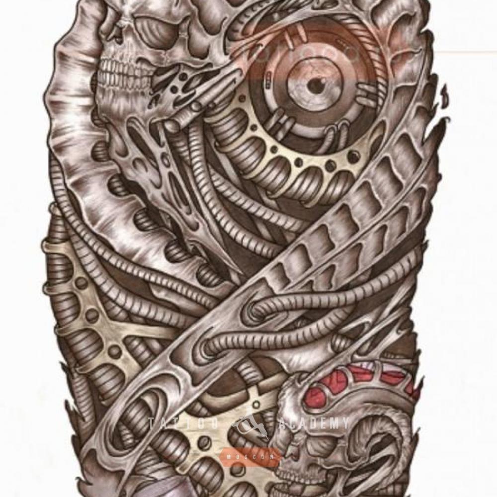 тату эскизы рисунки биомеханика стиль ткани своими руками