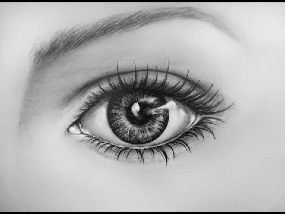 Рисунки глаз в картинках