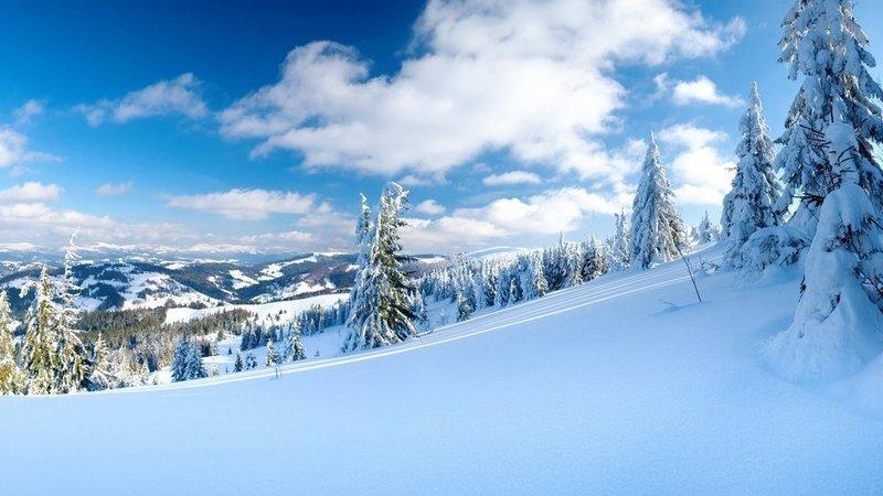 Зима… природа рисует своими красками белые узоры