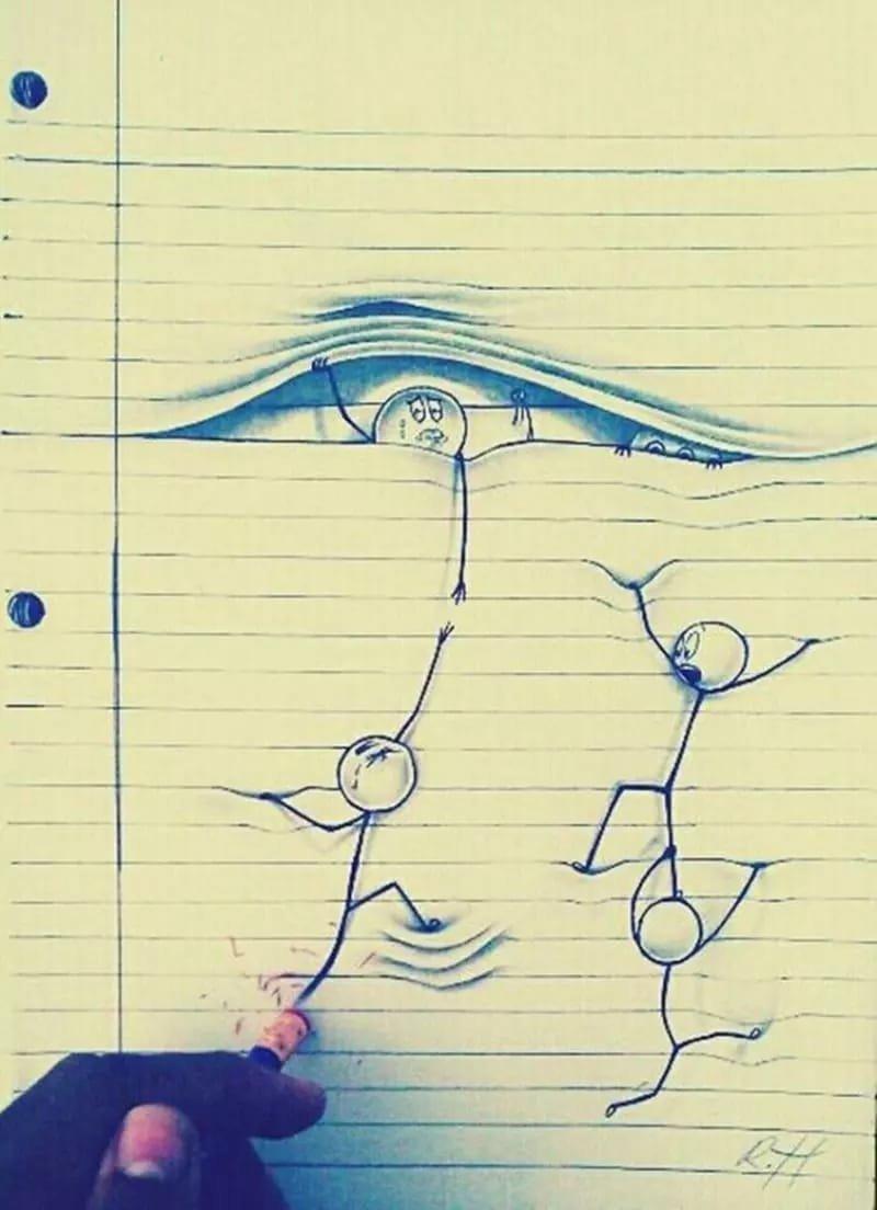 Воспитательнице для, прикольные рисунки скучно