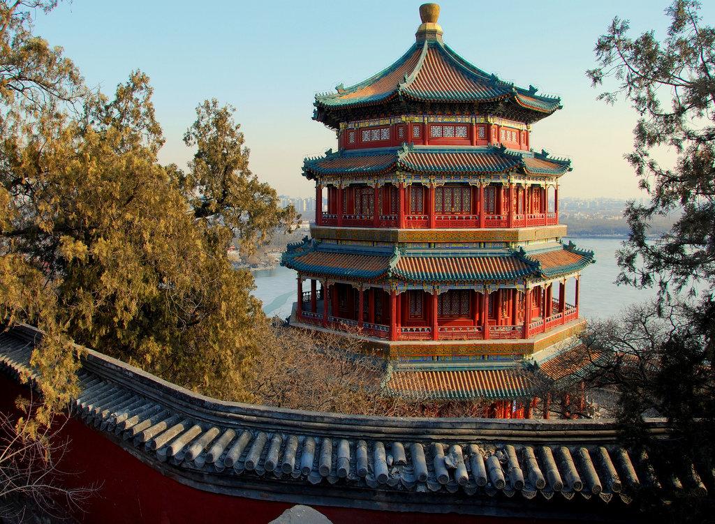 Картинка китайского дворца
