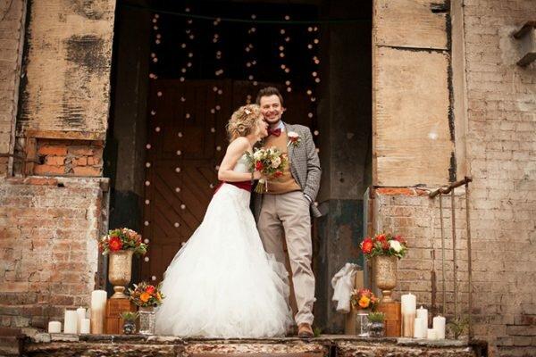 Оформляем свадьбу в стиле лофт - лучшие идеи для праздника.