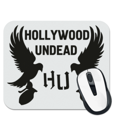 Коврик для мыши hollywood undead