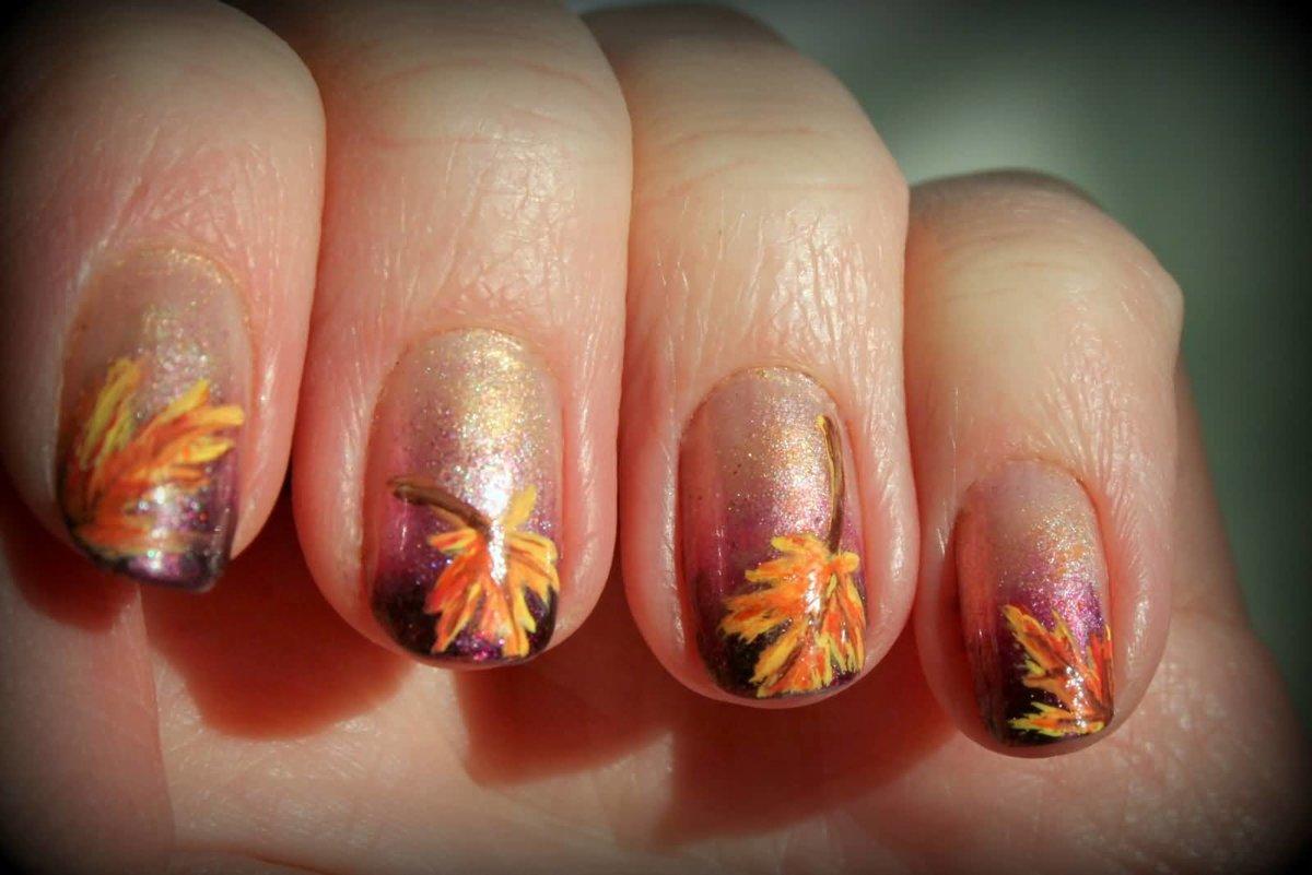 кленовые листья картинки на ногтях была убита глазах