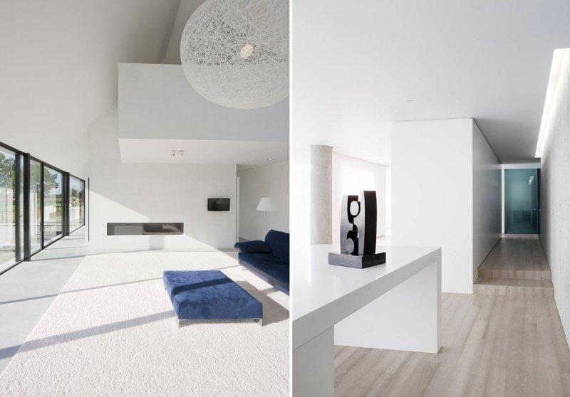 Стиль минимализм - Фото Дизайн интерьера Стиль минимализм