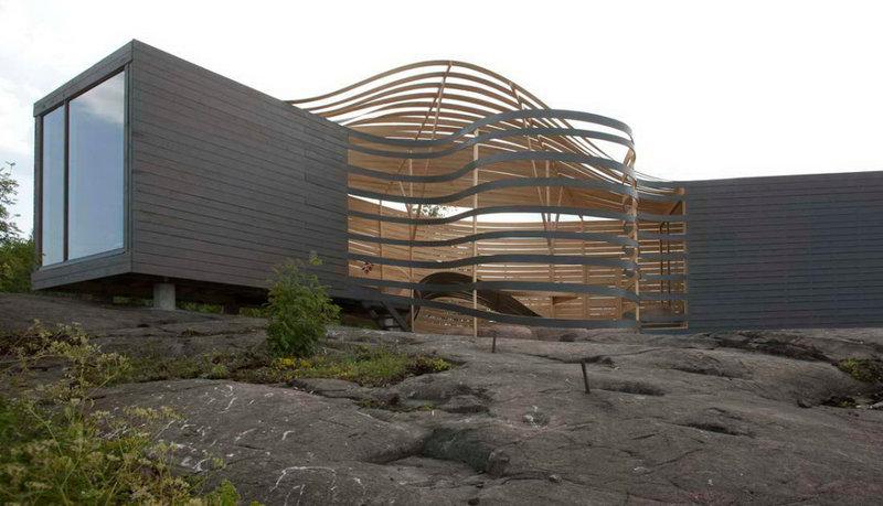 Деревянный дизайнерский отель в Хельсинки