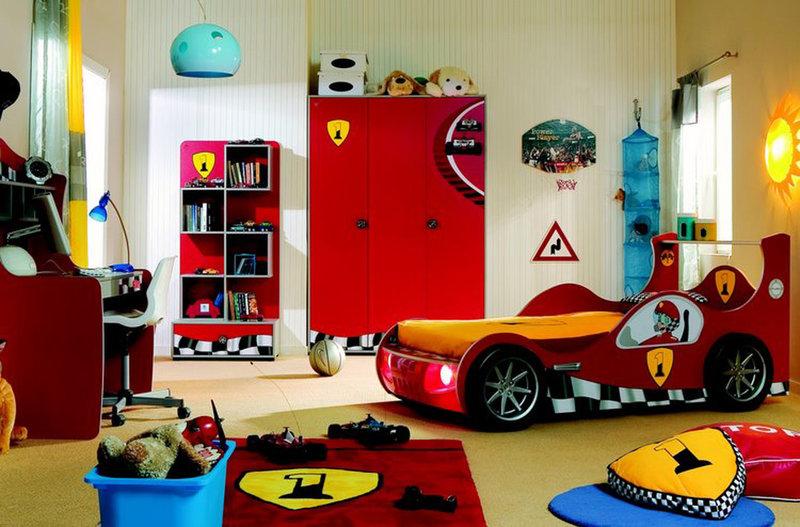 Детская комната-шумахер