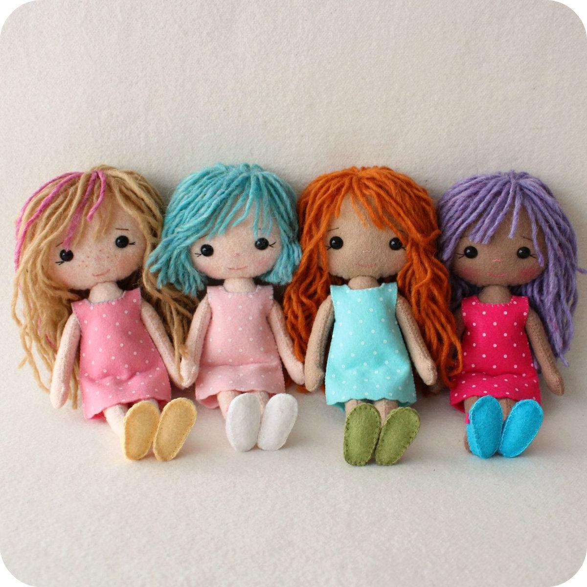 куколки из фетра фото исключением является появление