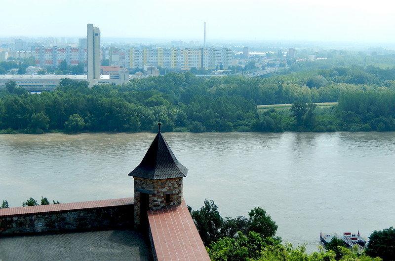 Вид на правый берег Дуная