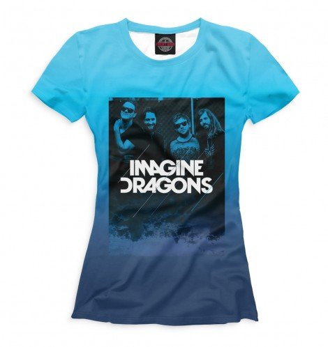 Футболка для девочек Imagine Dragons