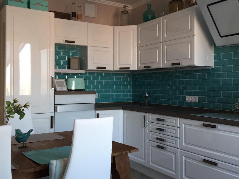 Угловая планировка кухни площадью 10 кв. м