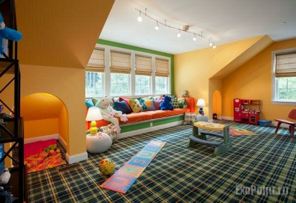 Проектирование правильного интерьера детской комнаты дело не из лёгких,