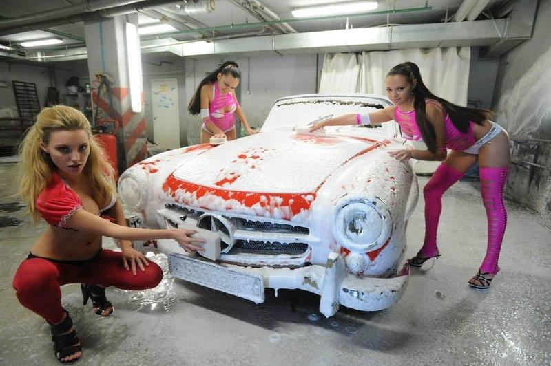 Сумасшедшая автомойка