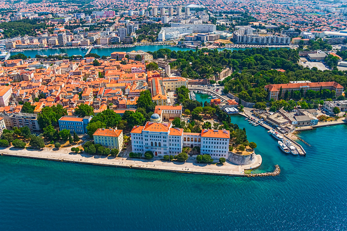 веселые хорватия город задар фото того чтобы