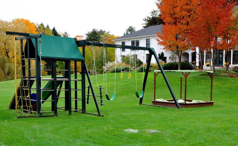 Площадки для двора - Идеи для детской площадки, для дачи и с