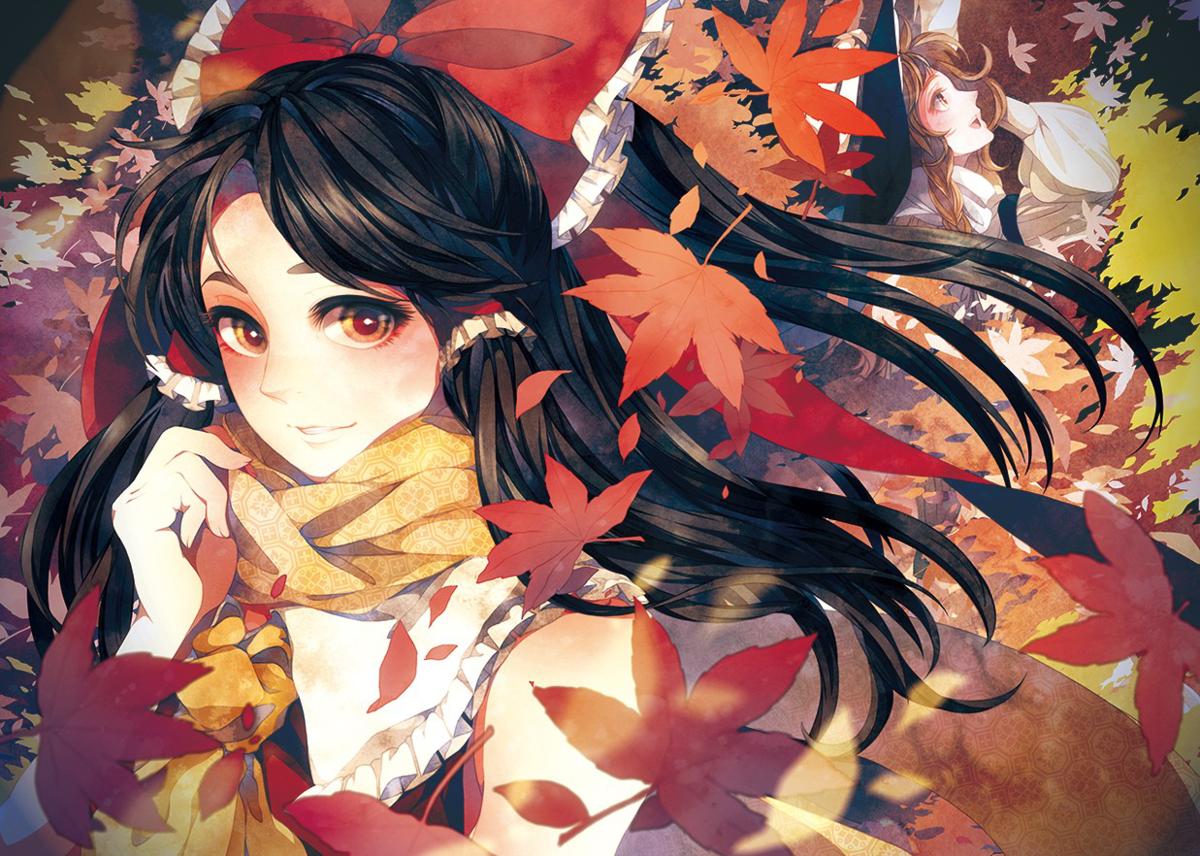 Рисунков для, аниме картинки осень девушка