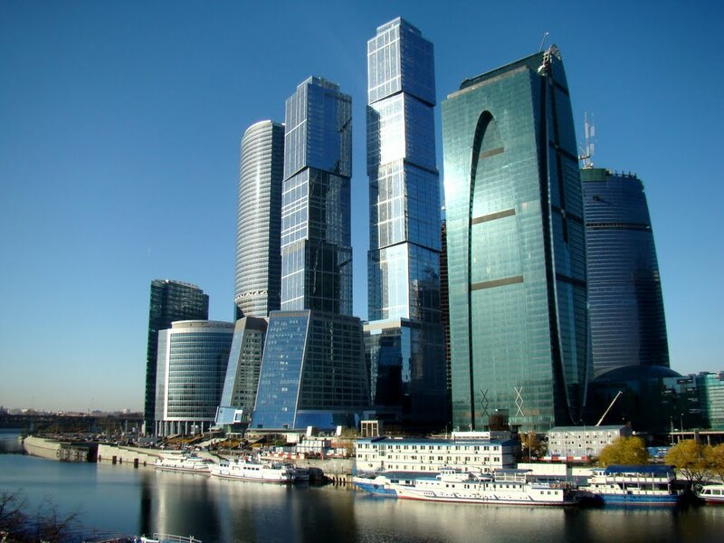Москва-Сити - бизнес-центр столицы