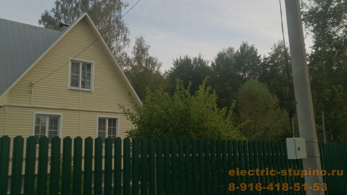 Подключение к электросети 220 В частного дома