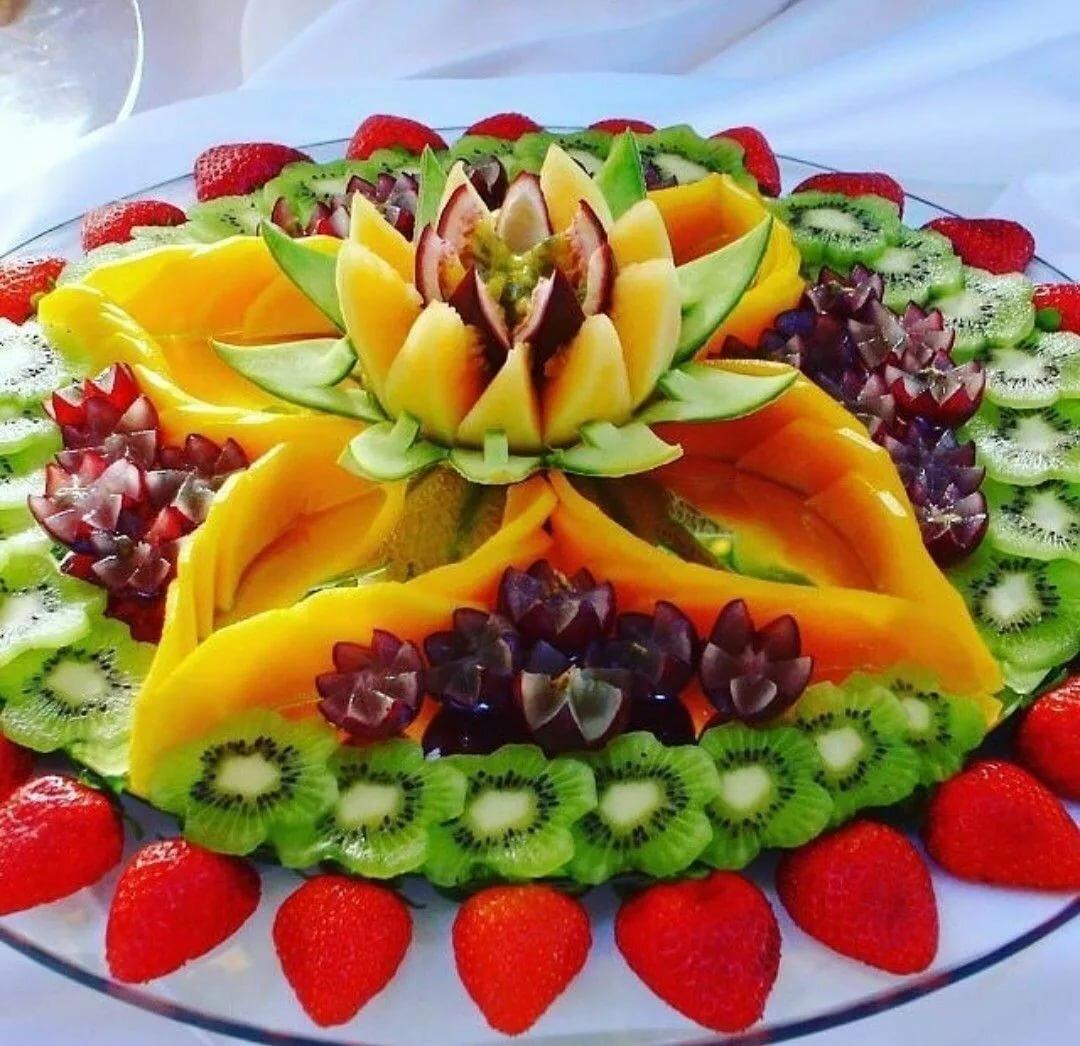 Картинки украшения фрукты