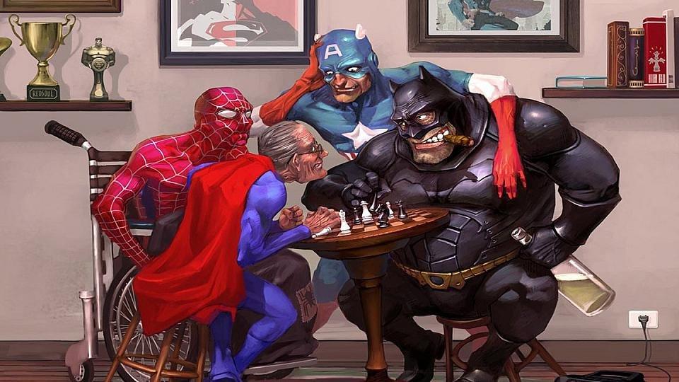 Приколы картинки супергероев