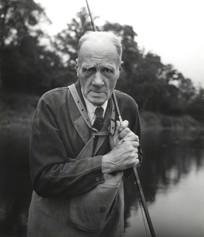 Rafael Sabatini by John Gay vintage glossy bromide print, 1949 National Portrait Gallery, London