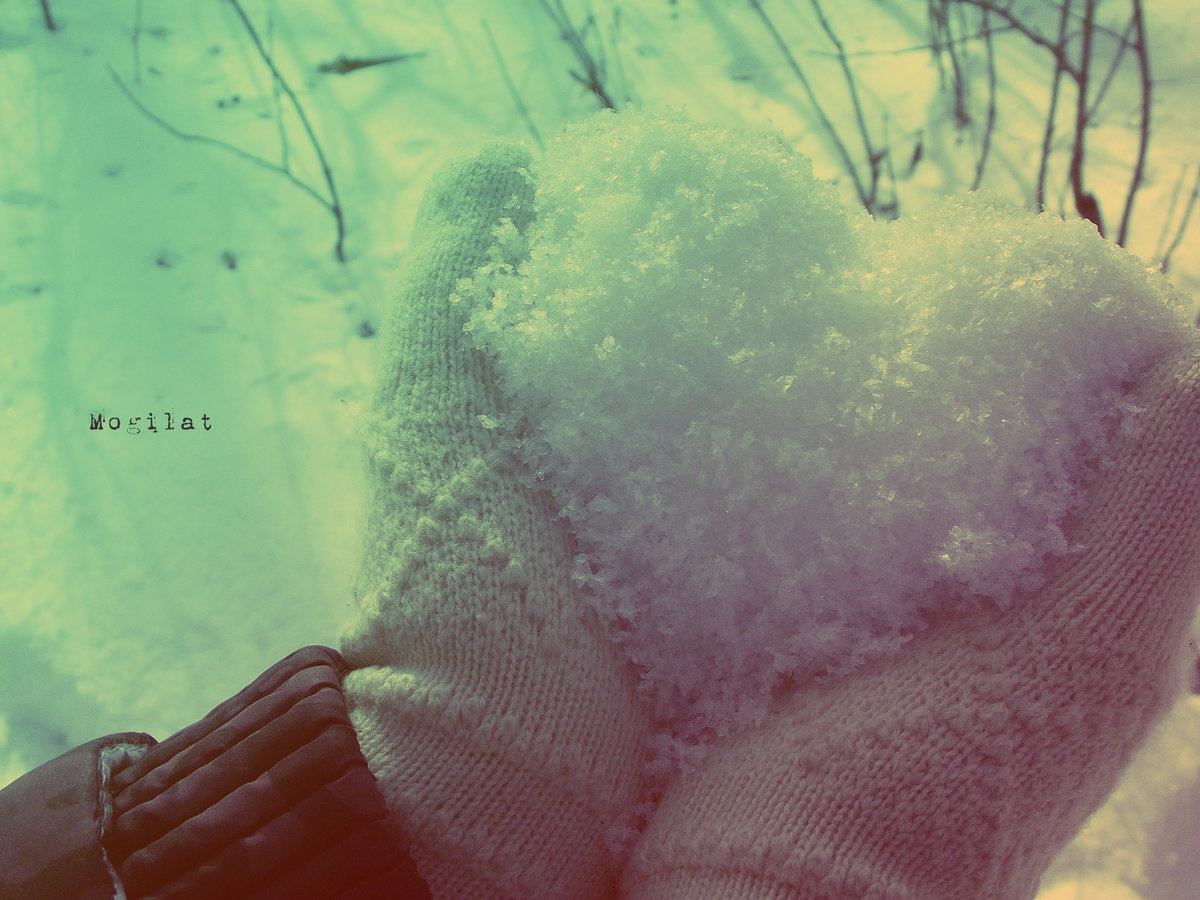 расскажем вам фото снег руки варежки миске разотрите