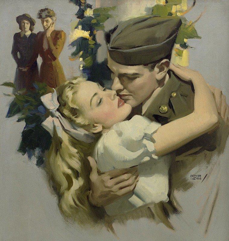 Картинки ретро про любовь