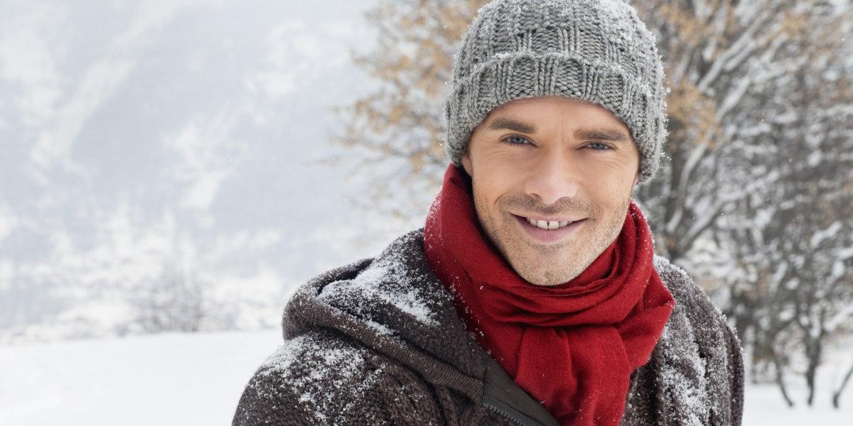 Зимние картинки мужчин