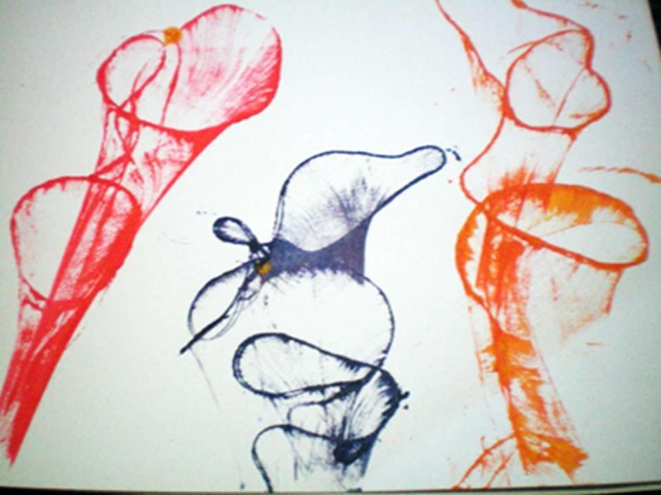 многие рисунок нитками на бумаге и краски важно сделать ровный