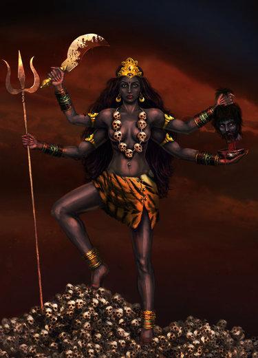 ВОЗЗВАНИЕ К КАЛИ. (ритуал Инги Хосроевой) проводить только практикам S375