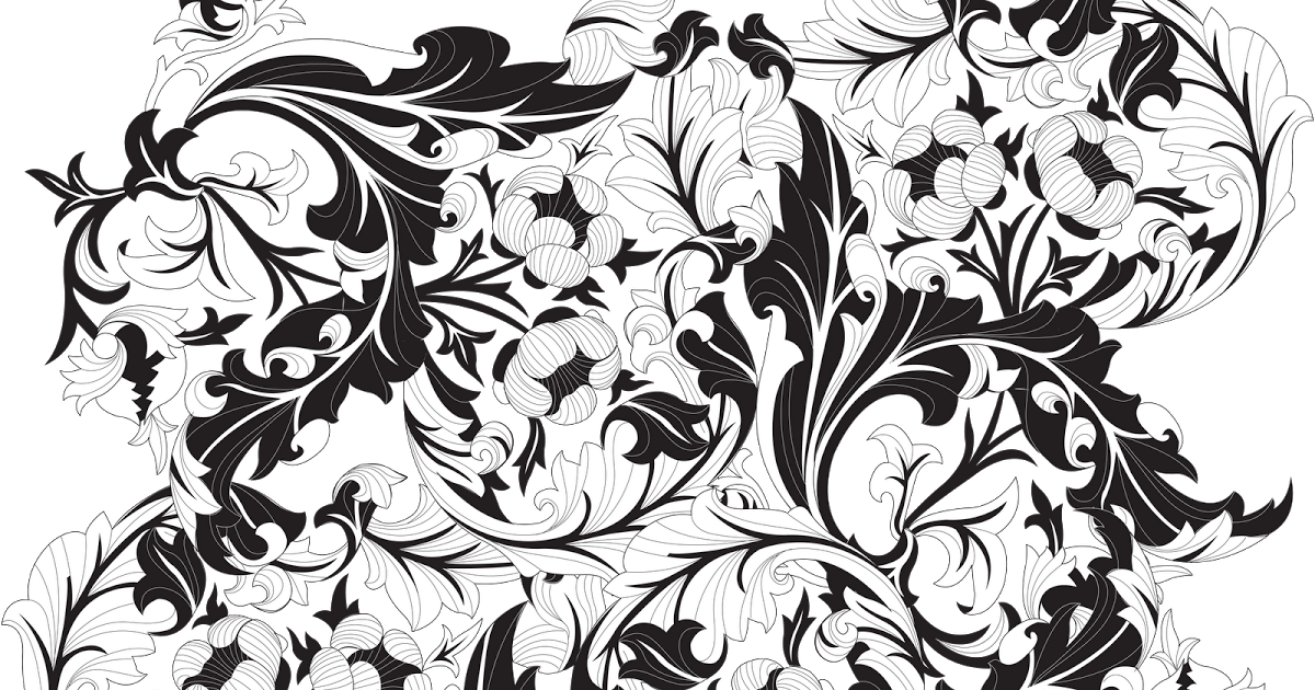 Черно-белые картинки в кореле