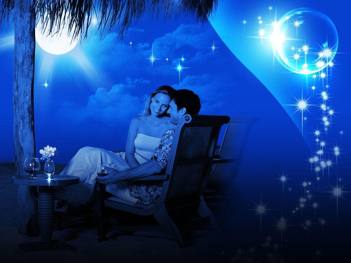 Картинки романтической ночи мужчине, пограничников россии день