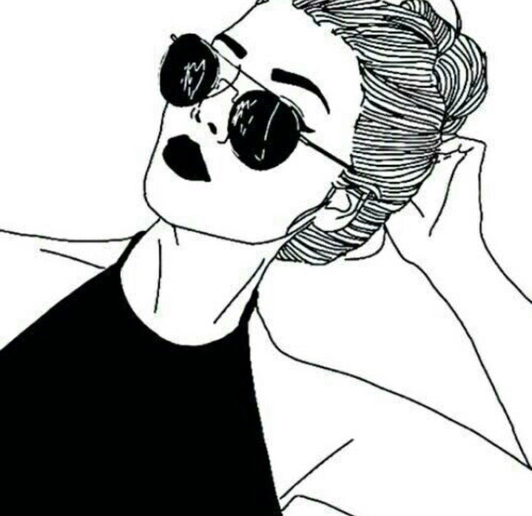Крутые черно белые рисунки для срисовки