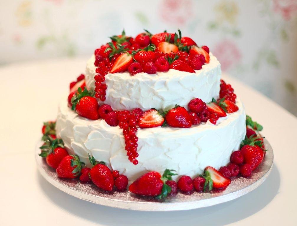 Красивые картинки тортики фрукты