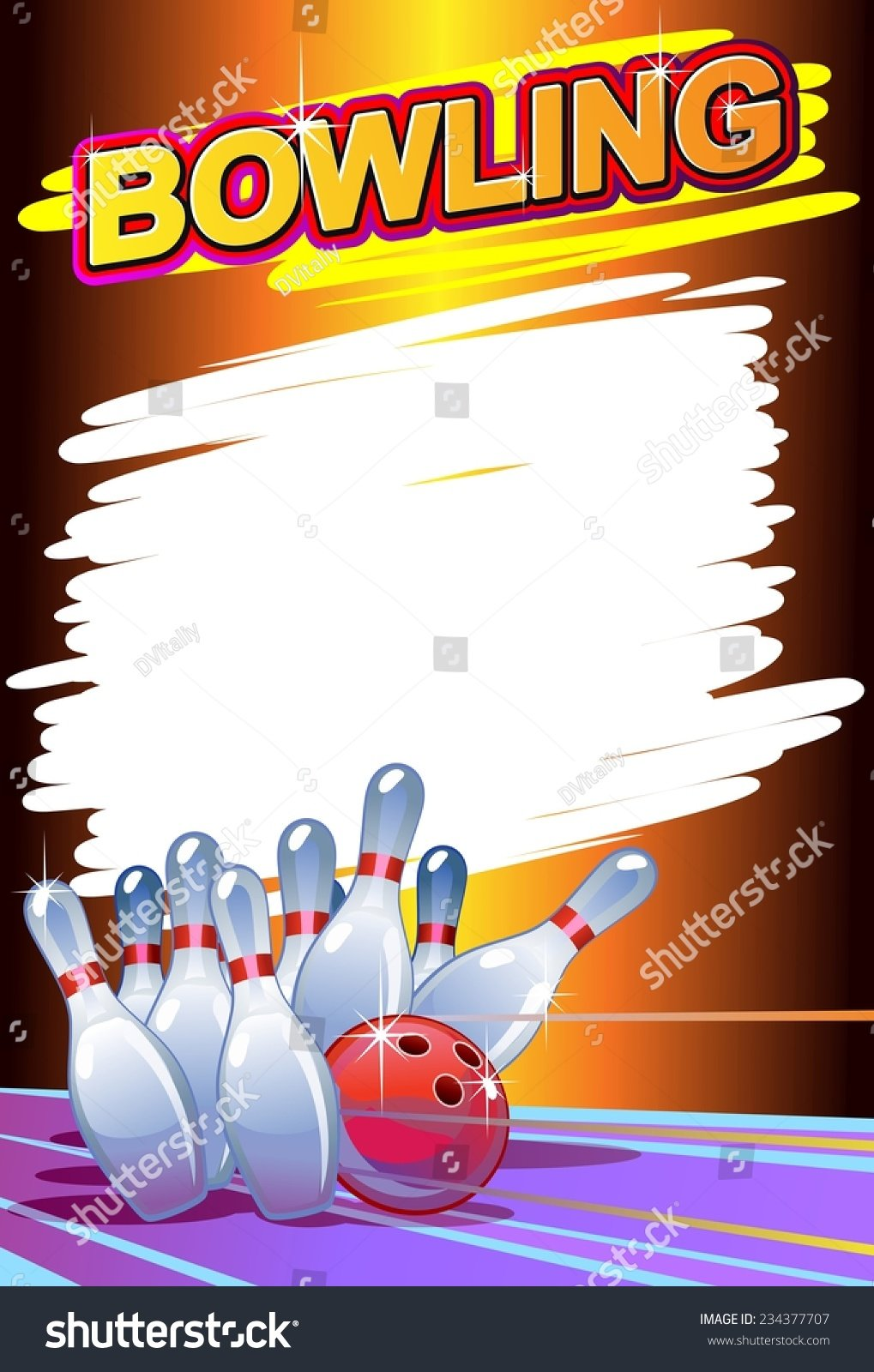 20 Bowling Party Flyer Template Christmas White Elephant Ug Card