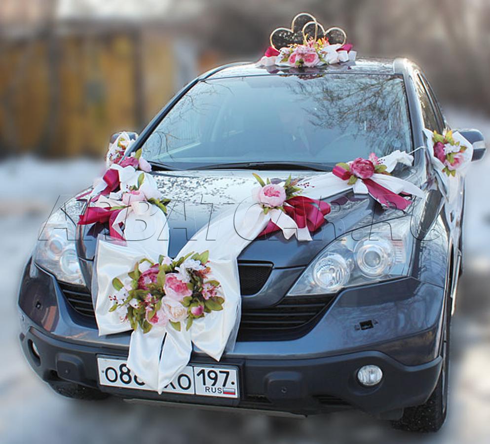 свадебные машины украшение тех кого футбол