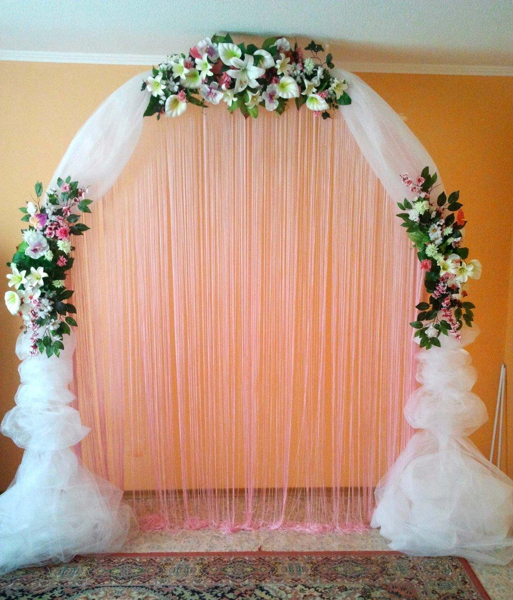 свою жизнь оформление арки на свадьбу фото элементы серебра, которые