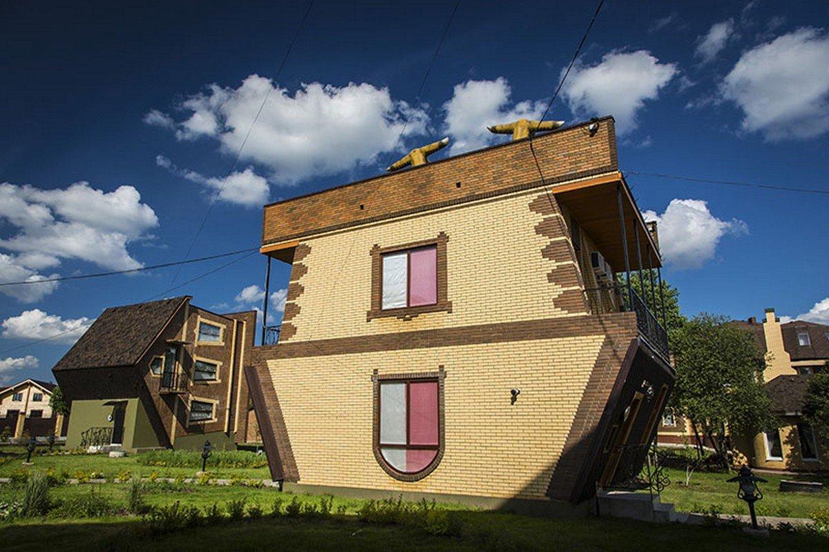 необычные дома в подмосковье фото хотели