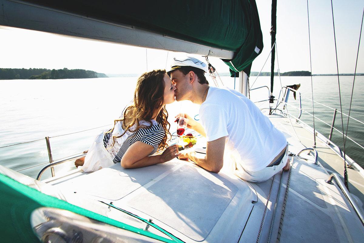 Обмен мужьями на яхте
