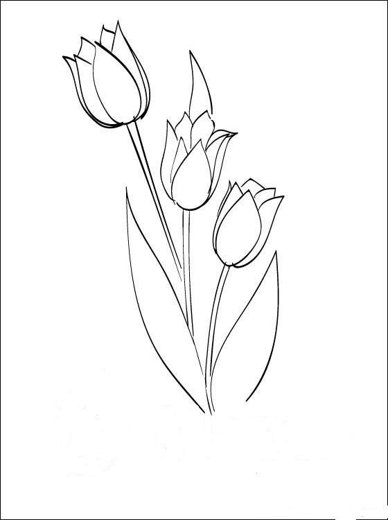 Днем, рисунок к 8 марта маме поэтапно
