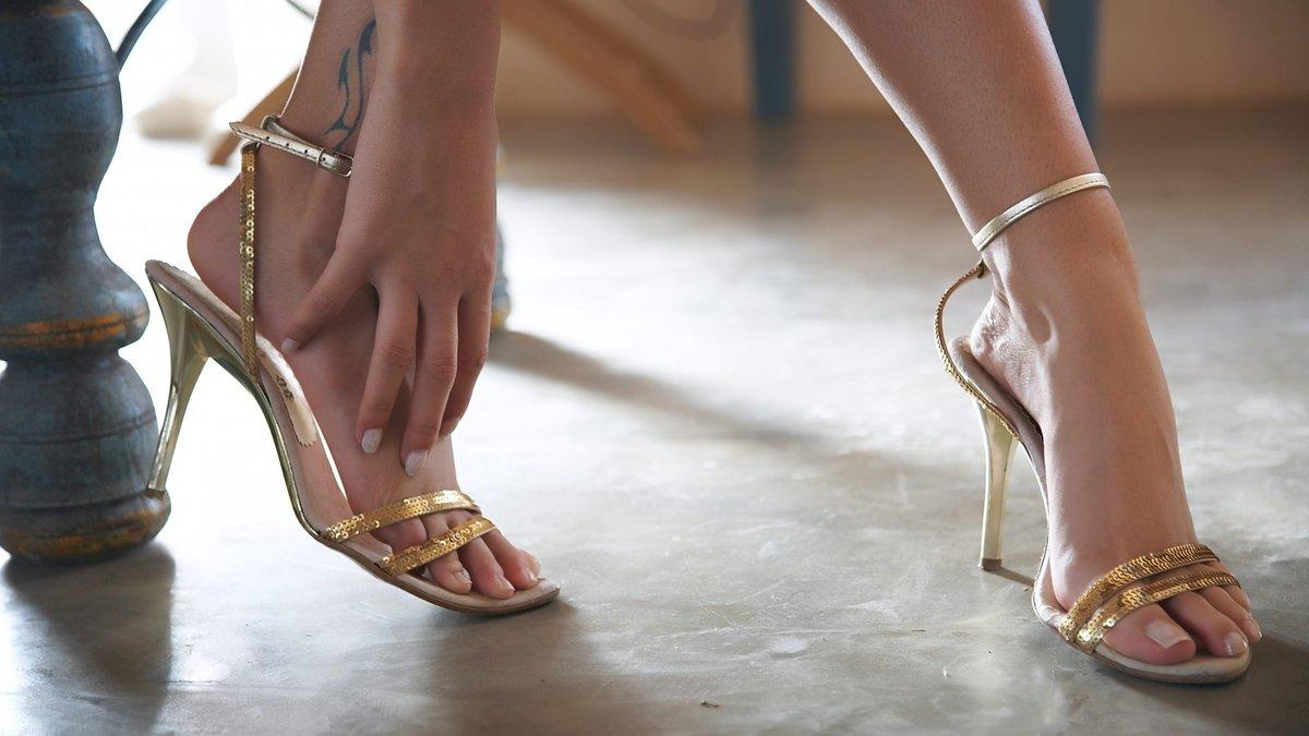 Фото ступней девушек