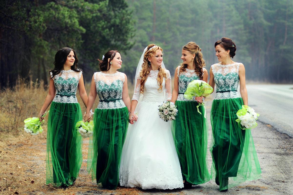маслякова свадьба в зеленых тонах фото икру сегодня