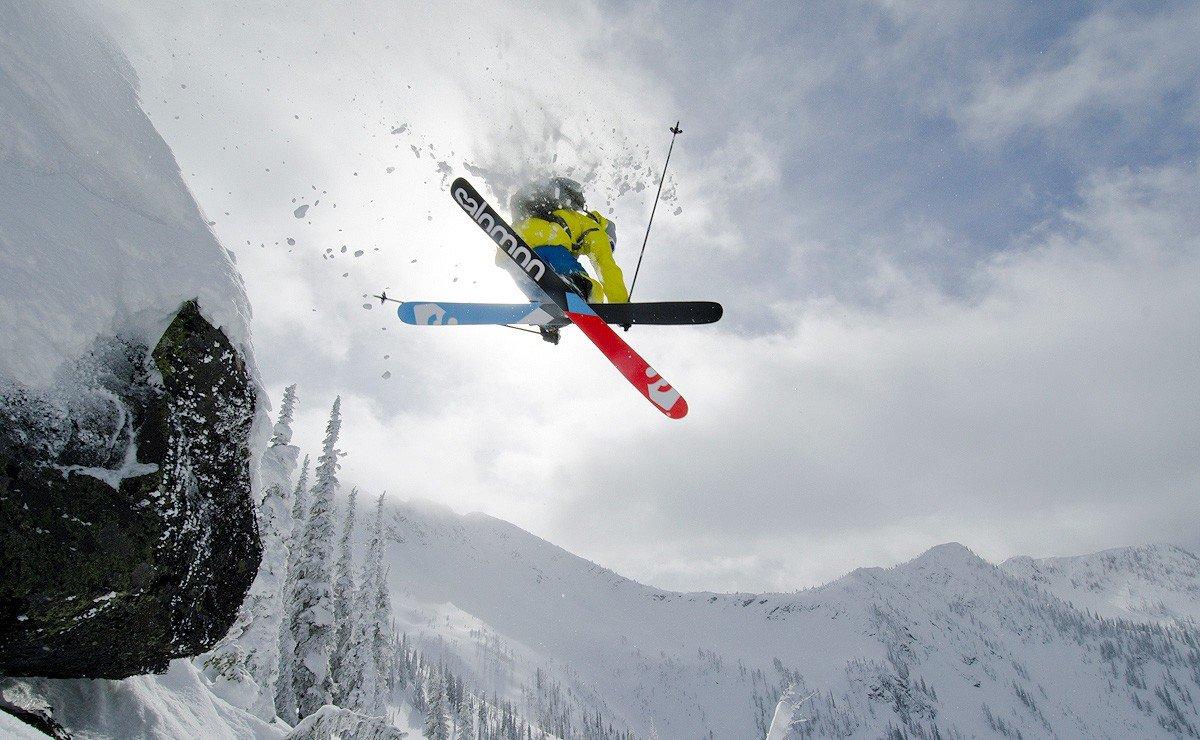 Горные лыжи фрирайд