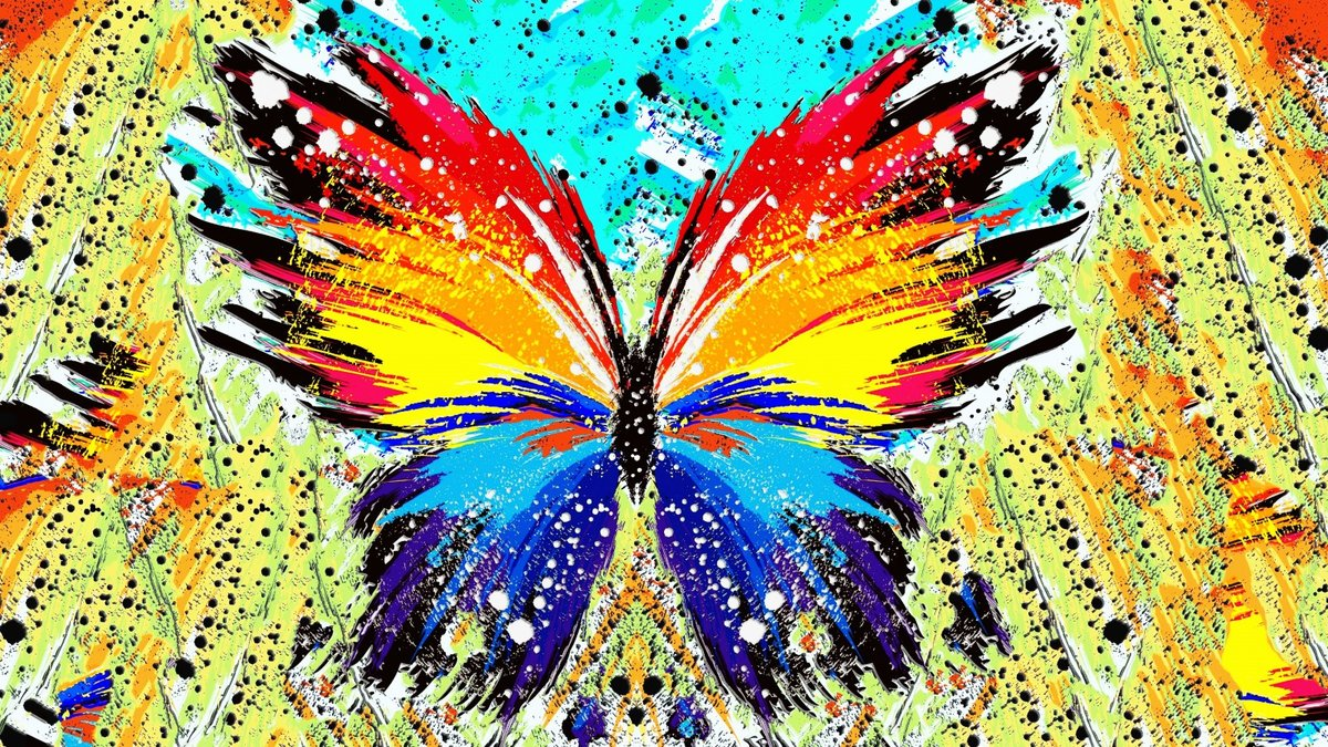 Разноцветные картинки мира