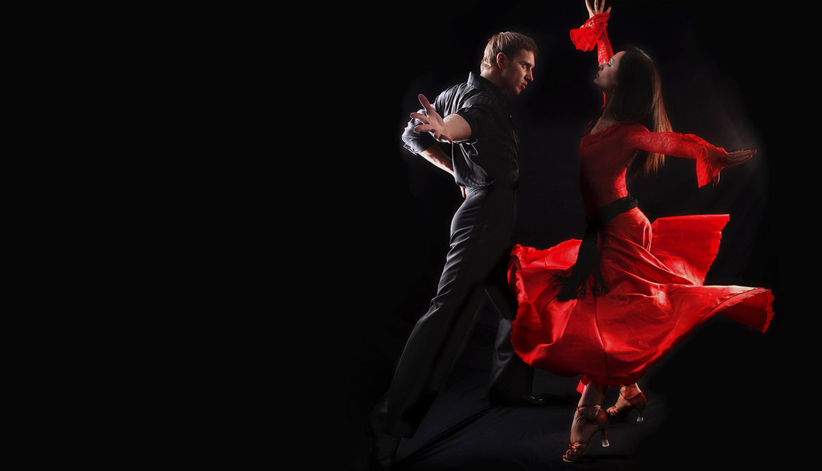 Открытка с танцами