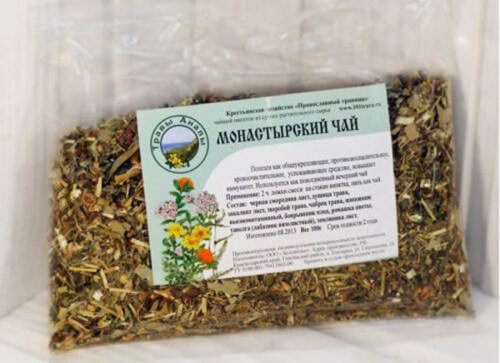 Монастырский чай от гепатита с